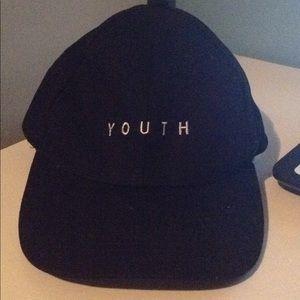 "Black ""Youth"" Baseball Cap"
